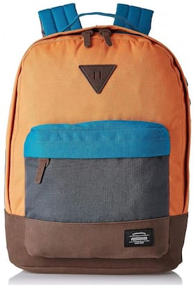 American Tourister Orange Polyester Backpack