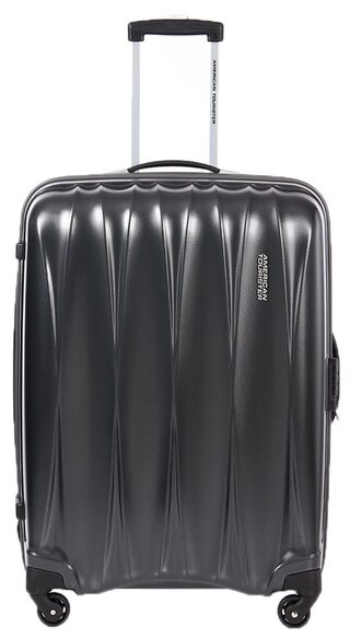 American Tourister Grey Polyester (Small Cabin Luggage)