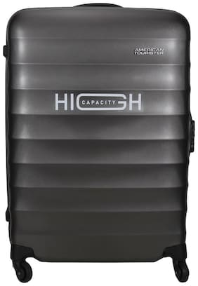 American Tourister Cabin Size Hard Luggage Bag - Grey , 4 Wheels