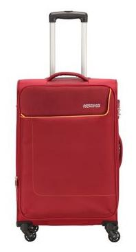 American Tourister Jamaica Soft Luggage (27 Inch, Red)
