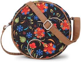 Regular Crossbody Bag ( Black )