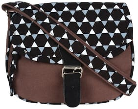 Medium Sling Bag ( Brown )