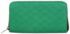Anekaant Women Solid Faux Leather - Clutch Green