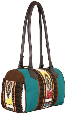 Anekaant Turquoise Travel Bag