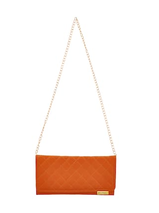 47cf3bf8901f Buy Anglopanglo Women Solid Pu - Sling Bag Tan Online at Low Prices ...
