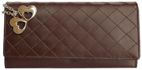 Anglopanglo Brown Color Women's Wallet