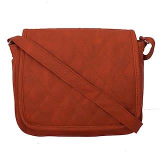 9435b73784 Buy ANICKS Women Pu Sling Bag - Orange Online at Low Prices in India ...