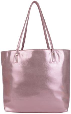 Antin Pink PU Handheld Bag - Tote Hand Bag
