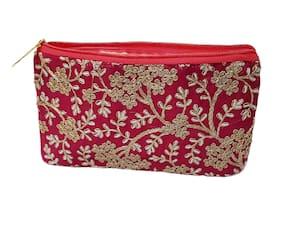 PRODUCTMINE Women Fabric Wallet - Pink