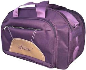 Apnav Polyester Men Duffle bag - Purple