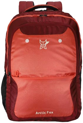 Arctic Fox Timber Hot Coral Laptop Backpack