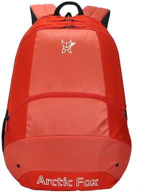 Arctic Fox Oval Fiery Red Backpack