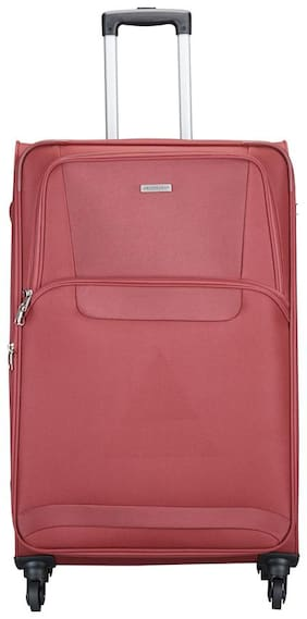 ARISTOCRAT Large Size Briefcase ( Pink , 4 Wheels )