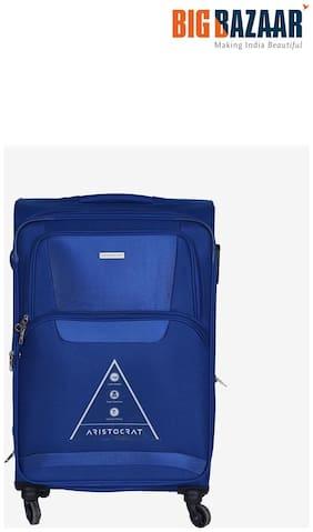 Aristocrat Amber 69 cm Soft Trolley (Blue)