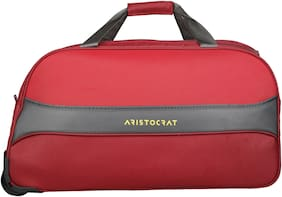 ARISTOCRAT Polyester Men Duffle Bag - Red