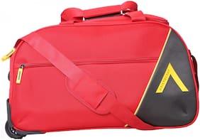 ARISTOCRAT Polyester Men Duffle bag - Red