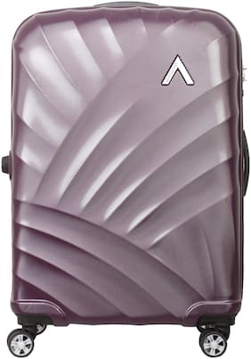ARISTOCRAT Legend Medium Size Hard Luggage Bag ( Purple , 4 Wheels )