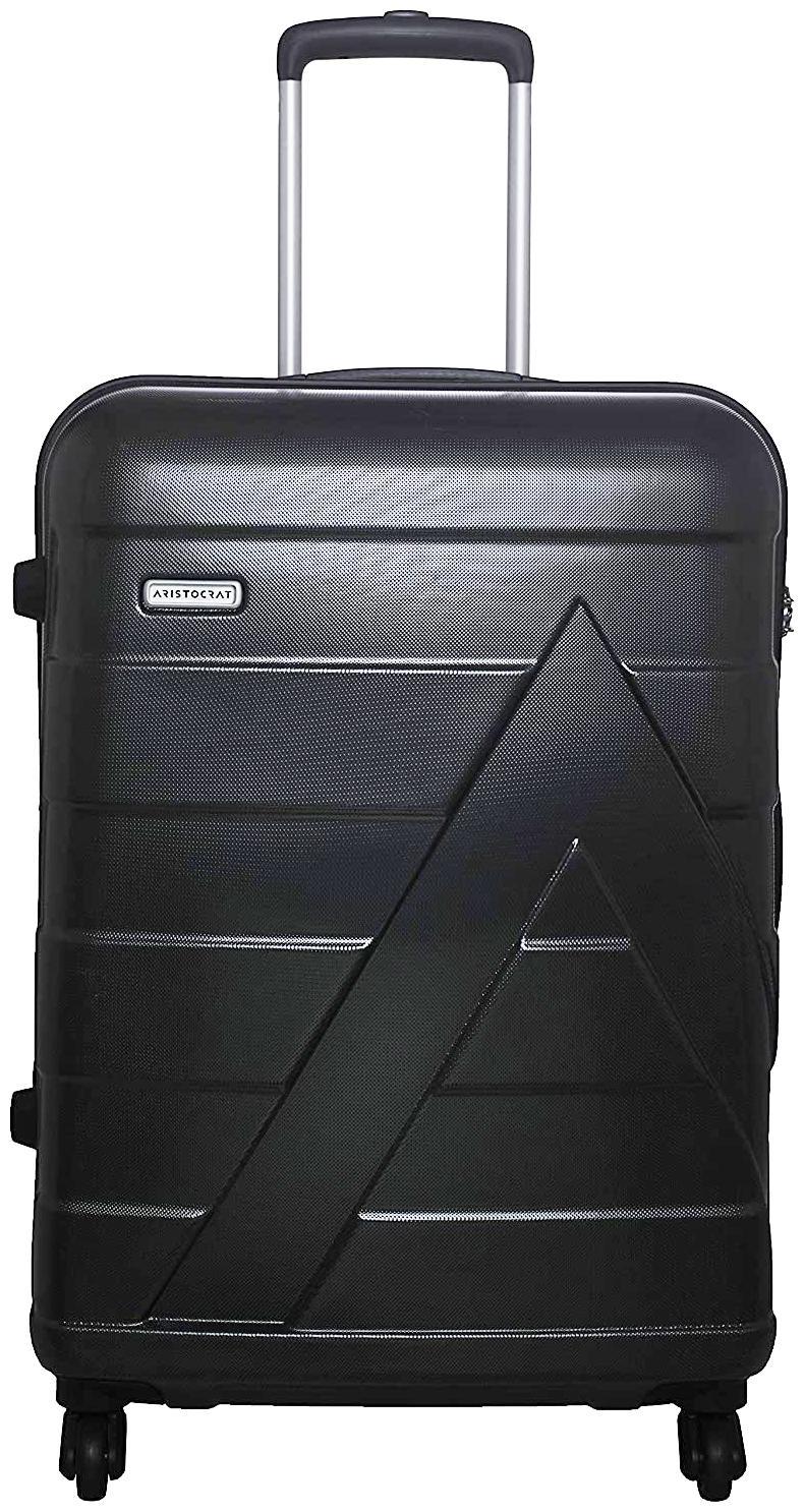 ARISTOCRAT Luggage Cabin Size Soft Luggage Bag   Black , 4 Wheels   by Buy More