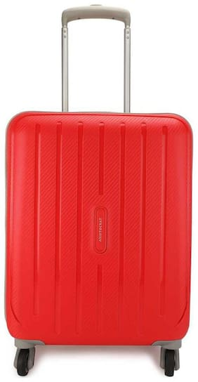 ARISTOCRAT Medium Size Hard Luggage Bag ( Red , 4 Wheels )