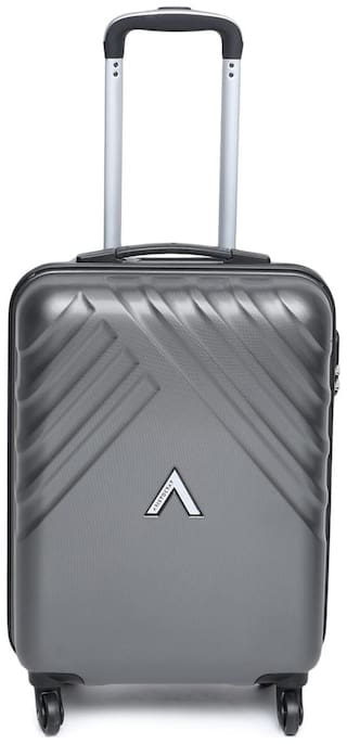 ARISTOCRAT Cabin Size Briefcase ( Grey , 4 Wheels )