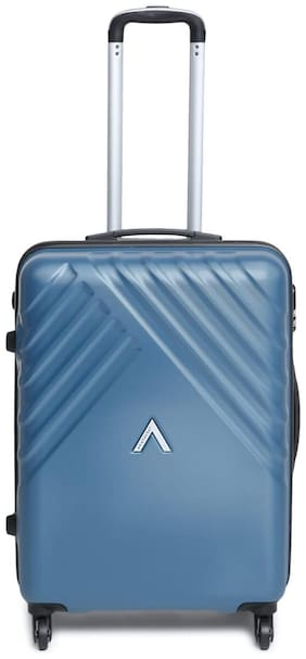 ARISTOCRAT Medium Size Briefcase ( Blue , 4 Wheels )