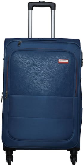ARISTOCRAT SORENTO Medium Size Soft Luggage Bag ( Blue , 4 Wheels )