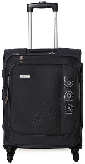 ARISTOCRAT Cabin Size Soft Luggage Bag ( Grey , 4 Wheels )