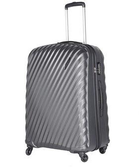Aristocrat Target 75Cm Unisex Polycarbonate Large Trolley Bag-TARGET75MGP (Grey)