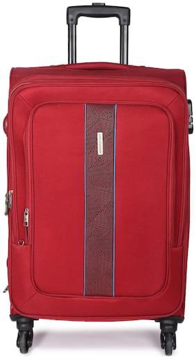 ARISTOCRAT Medium Size Soft Luggage Bag - Red , 4 Wheels
