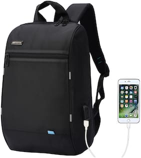 Artistix Talon 13.3 Laptop Mini Backpack Anti-Theft Design With USB Charging Port Water Resistance