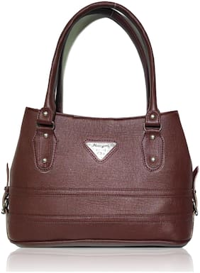 AZED Collections Women Shoulder Handbag - Brown (H004BN)