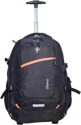 Backpack Overnighter Trolley Black & Orange