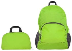 CONNECTWIDE Green Nylon Backpack