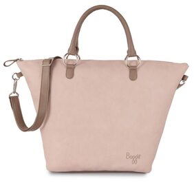 Baggit Women Solid Synthetic - Sling Bag Pink