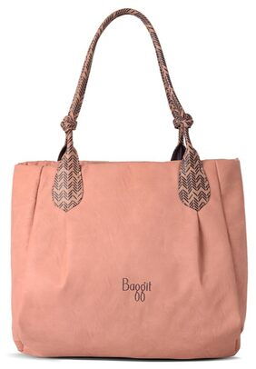 Baggit Women Synthetic 1 Handheld Bag - Pink