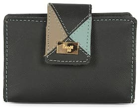 Baggit Women Black Synthetic Wallet