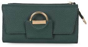 Baggit Women Green Synthetic Wallet