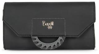 Baggit Women Black Synthetic Wallet