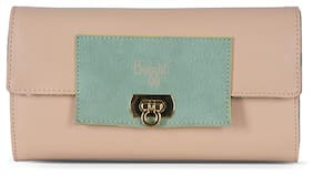 Baggit Women Pink Synthetic Wallet