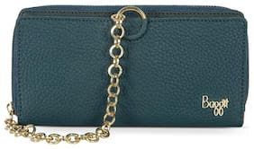 Baggit Women Green Synthetic Wallet