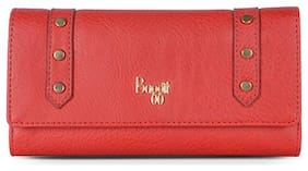 Baggit Women Red Synthetic Wallet