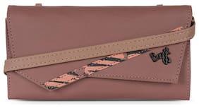 Baggit Women Red Synthetic Wallet