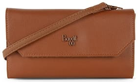 Baggit Women Tan Synthetic Wallet