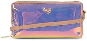 Baggit Women Purple Synthetic Wallet