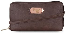 Baggit Women's Clutch (Brown)