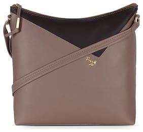 Baggit Pink Nylon Hobo Bag - L HASEL Y G Z