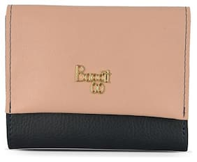 Baggit Women Solid Synthetic - Clutch Blue