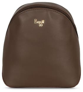 Baggit Brown Nylon Backpack