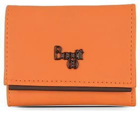 Baggit Women Nylon 3 Fold (Orange) (Lz Beckham Y G Z)
