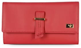 Baggit Women Nylon 3 Fold (Red) (Lw Wox Y G)